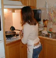 Annabelle deBaize cooking